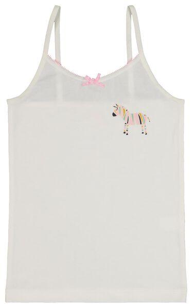 2er-Pack Kinder-Hemden, Zebras rosa rosa - 1000020482 - HEMA