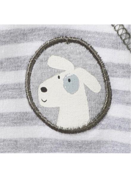 newborn jumpsuit grey grey - 1000005619 - hema