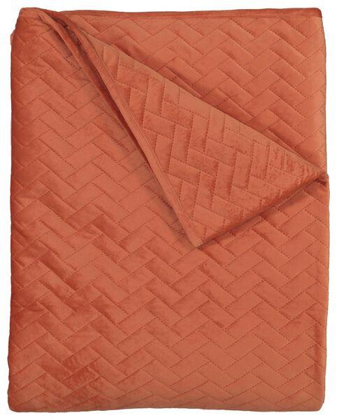 Image of HEMA Bedspread - Velvet Terra (terra)