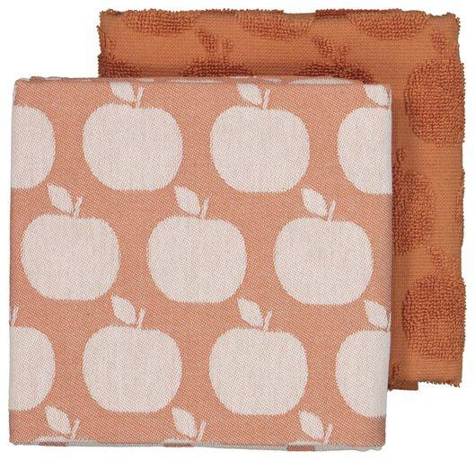 tea- and kitchen towel - apple - 5410113 - hema