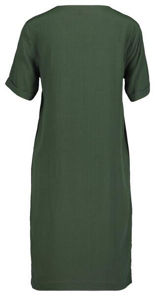 women's dress dark green dark green - 1000017543 - hema