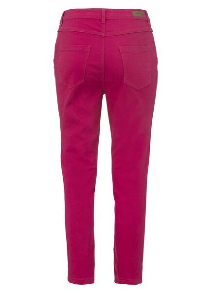women's skinny trousers pink pink - 1000006703 - hema