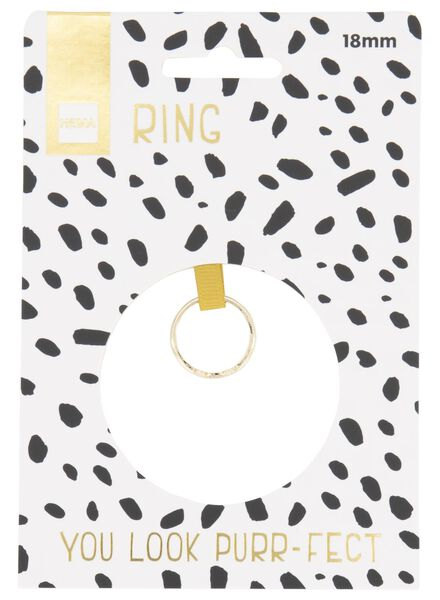 ring cat - gold-coloured - 60500541 - hema