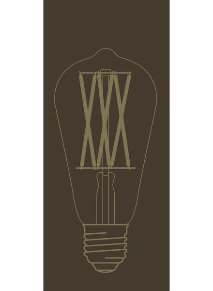 LED lamp 4W - 320 lm - edison - gold - 20020078 - hema