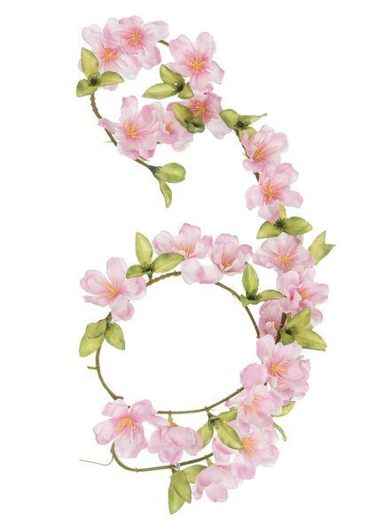 guirlande DIY fleurs artificielles - 25820050 - HEMA