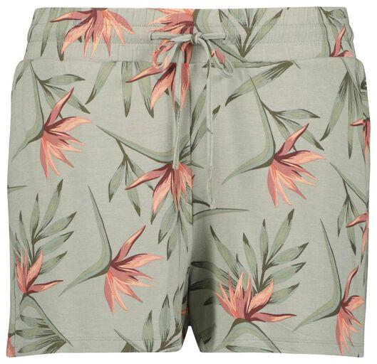 Hosen - HEMA Damen Shorts Hellgrün  - Onlineshop HEMA