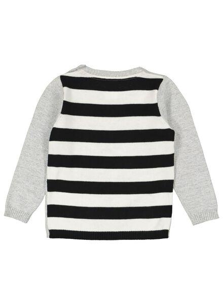 pull bébé en maille gris chiné gris chiné - 1000016892 - HEMA