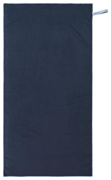 serviette de bain microfibre 70x140 bleu - 5290062 - HEMA