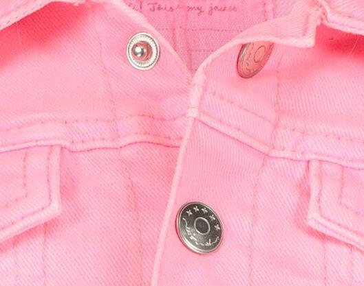 children's denim jacket pink pink - 1000017837 - hema