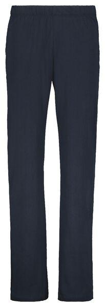 pyjama homme rayé bleu bleu - 1000021268 - HEMA