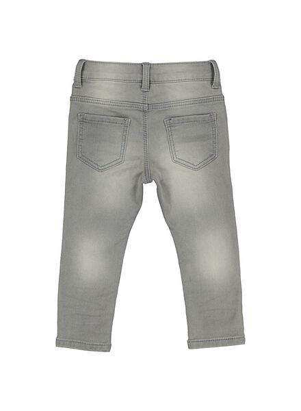 jog denim bébé gris gris - 1000014359 - HEMA