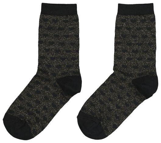 Damen-Socken schwarz schwarz - 1000020047 - HEMA