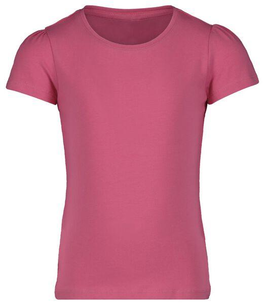 t-shirt enfant rose rose - 1000018003 - HEMA