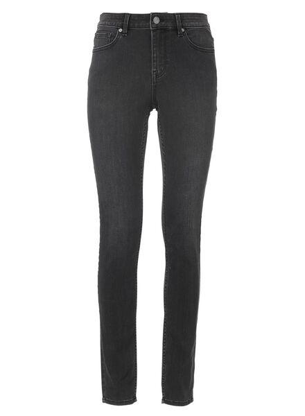Hosen für Frauen - HEMA Damen Skinnyjeans Dunkelgrau  - Onlineshop HEMA