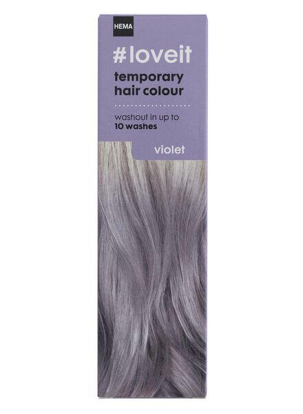 coloration cheveux temporaire violet - 11030003 - HEMA
