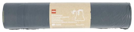 Image of HEMA 10 Bulky Waste Bags Recycled 120 L