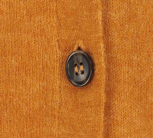 women's knitted cardigan yellow ochre yellow ochre - 1000017995 - hema
