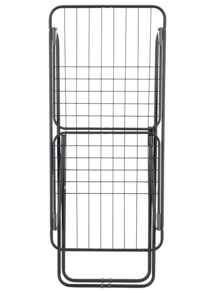 drying rack with folding wings - 18 m drying length - black - 20510029 - hema