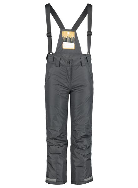 children's ski pants grey grey - 1000017388 - hema
