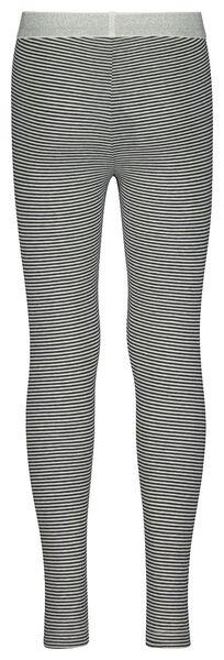 children's leggings stripe dark blue dark blue - 1000022032 - hema