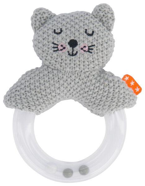 baby rattle cat - 33501350 - hema