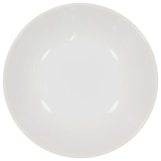 assiette creuse - 21 cm - Amsterdam - blanc - 9602000 - HEMA
