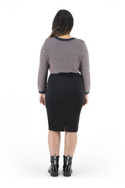 jupe femme noir noir - 1000019218 - HEMA