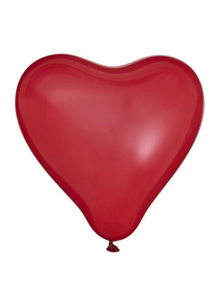 8er-Pack Herz-Luftballons - 14230172 - HEMA