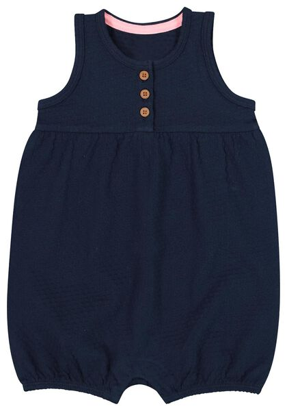 baby jumpsuit dark blue 98 - 33085579 - hema