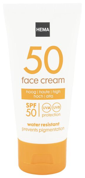 face sun cream anti pigmentation SPF 50 - 50 ml - 11610179 - hema