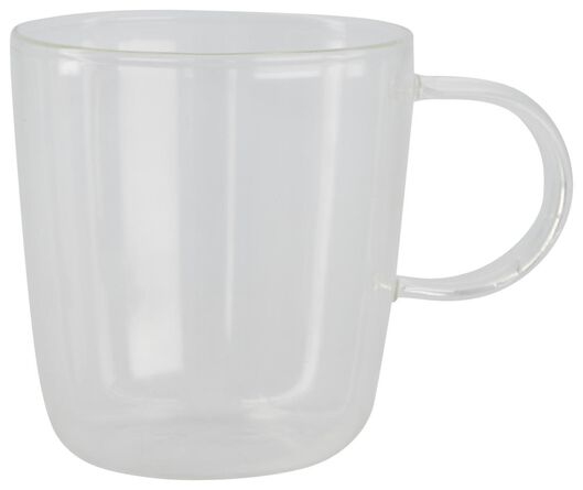 mug à café Chicago 130 ml verre - 80660021 - HEMA
