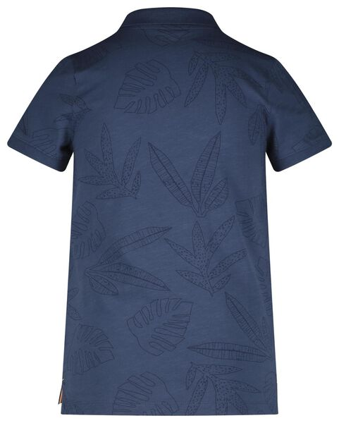 children's polo shirt blue blue - 1000018581 - hema