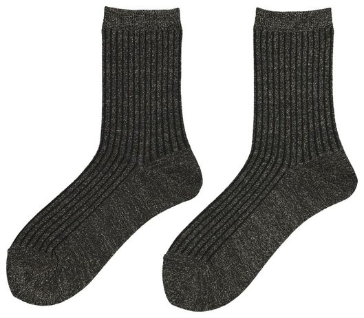 Damen-Socken schwarz schwarz - 1000020053 - HEMA