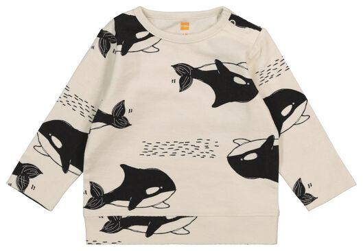 baby sweater ecru ecru - 1000017538 - hema