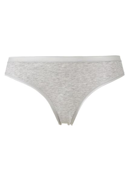 women's briefs grey melange grey melange - 1000006530 - hema