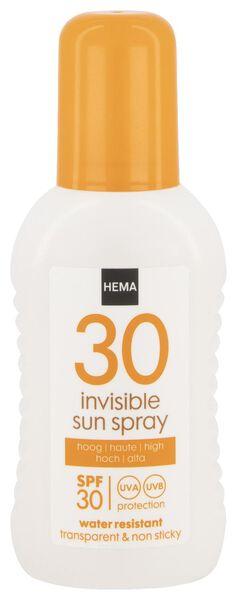 invisible sun spray 200 ml SPF30 - 11610174 - hema