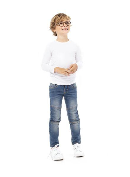 jean enfant modèle regular fit denim denim - 1000003249 - HEMA