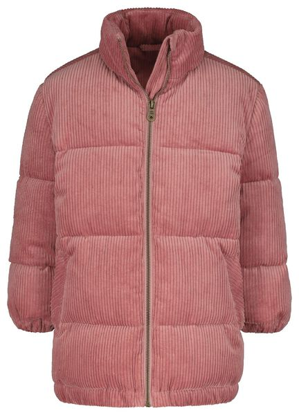 manteau enfant corduroy rose rose - 1000020305 - HEMA