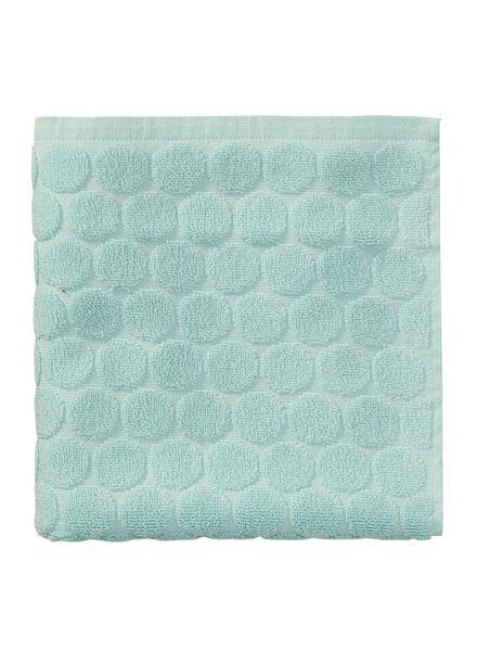 towel - 50 x 100 cm - heavy quality - mint green dotted mint green towel 50 x 100 - 5240174 - hema