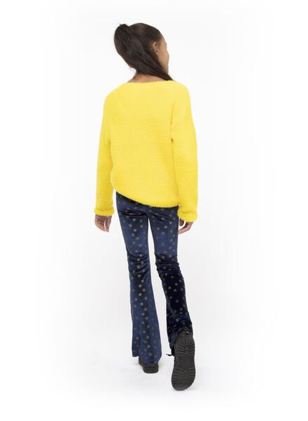 pantalon bootcut enfant bleu bleu - 1000016838 - HEMA
