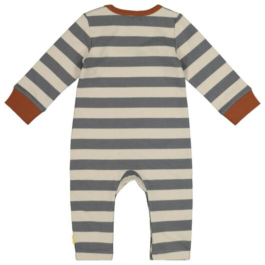 Newborn-Jumpsuit grau grau - 1000017661 - HEMA