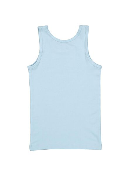 2-pack children's vests with bamboo blue 86/92 - 19250421 - hema