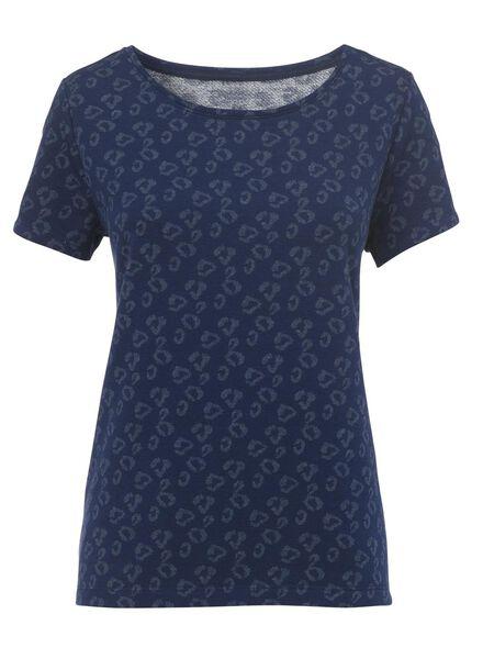 women's top blue blue - 1000006695 - hema