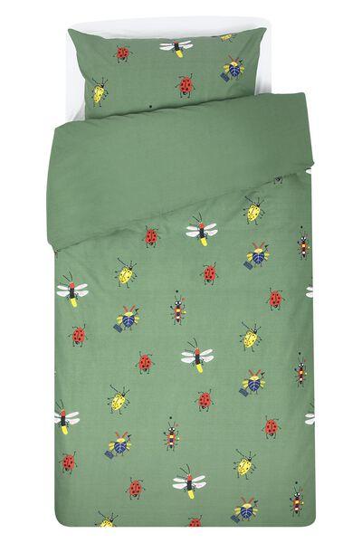 housse de couette enfant coton doux 140x200 insecte - 5720126 - HEMA