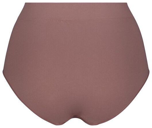 Damen-Taillenslip, nahtlos rosa rosa - 1000024119 - HEMA