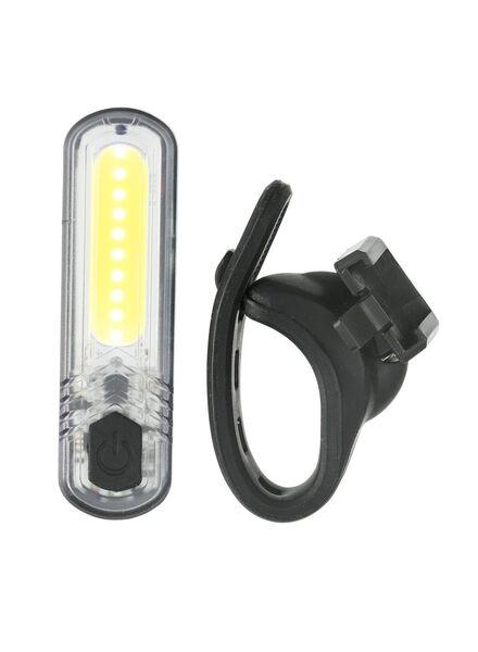 aufladbare LED-Fahrradlampe, weiß - 41198118 - HEMA