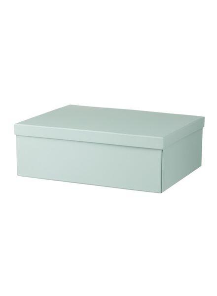 cardboard storage box 32.5 x 43.5 x 14.5 cm - 39870024 - hema