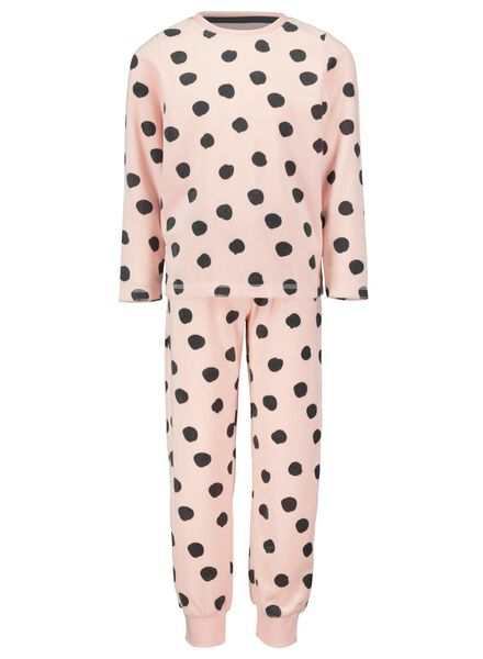 pyjama enfant rose pâle rose pâle - 1000016667 - HEMA