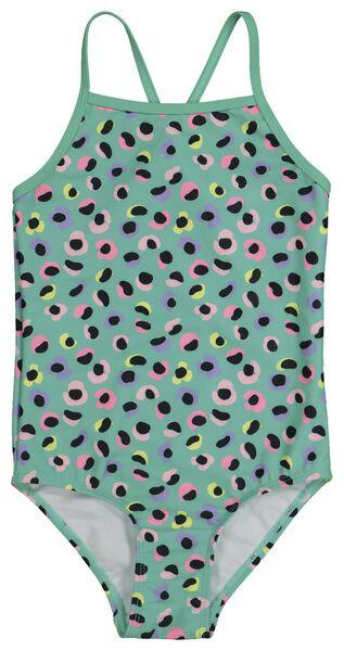 Kinder-Badeanzug mintgrün mintgrün - 1000022261 - HEMA