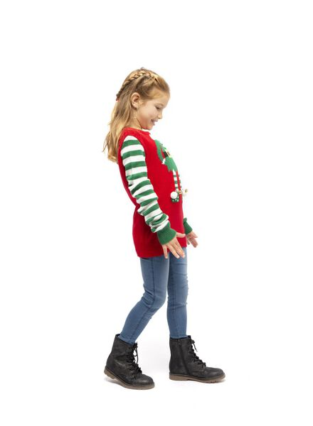 pull enfant noël rouge rouge - 1000016975 - HEMA
